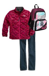 The North Face Jacket, True Religion Brand Jeans Straight Leg Jeans & Roxy Backpack (Big Girls)