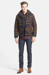 Pendleton Jacket, 7 Diamonds Sweater, Pendleton Fitted Flannel Shirt & J Brand Skinny Fit Jeans