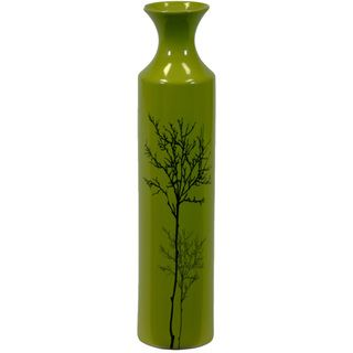 Urban Trends Collection Small Green Ceramic Vase Urban Trends Collection Vases