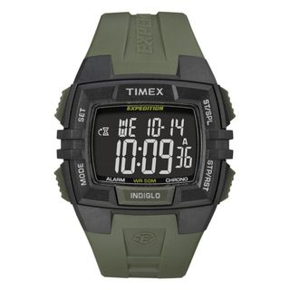 Timex Mens T49903 Expedition Rugged Wide Digital CAT Black/Green Watch Expedition Mens Timex Watches