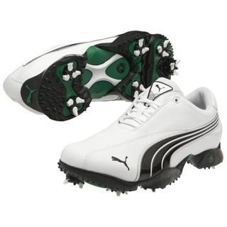 Mens White / Black Puma Ace 2 Puma Men's Golf Shoes