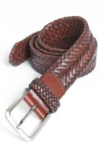 Trafalgar Brady Braided Leather Belt