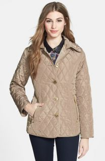 MICHAEL Michael Kors Front Button Quilted Jacket