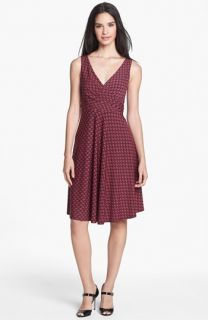 Isaac Mizrahi New York Jersey Fit & Flare Dress
