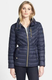 MICHAEL Michael Kors Quilted Down Anorak