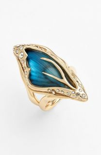 Alexis Bittar Lucite®   Jardin Mystère Butterfly Wing Statement Ring