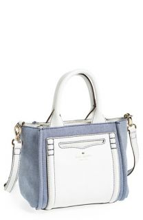 kate spade new york small claremont drive marcella denim crossbody satchel