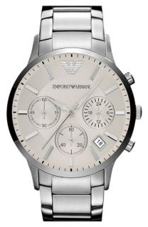 Emporio Armani Stainless Steel Bracelet Watch, 43mm