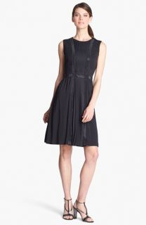 St. John Collection Sequin Accent Matte Jersey Dress