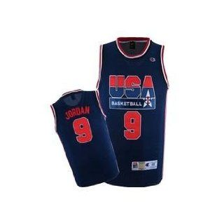 1992 Olympic Dream Team Jersey #9 Michael Jordan Replica Jersey blue 1 (3XL(190+CM))  Sports Fan Jerseys  Sports & Outdoors
