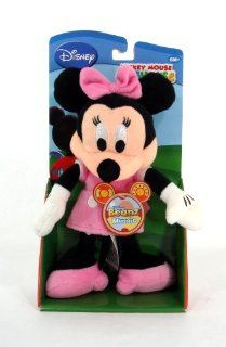 "Mickey Mouse Club House 8"" Plush Beanz Minnie Mouse Doll Toy Toys & Games"