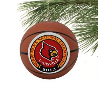 Louisville Cardinals 2013 NCAA Mens Basketball National Champions Basketball Ornament