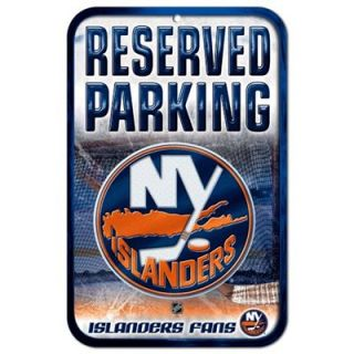 New York Islanders 11 x 17 Reserved Parking Sign