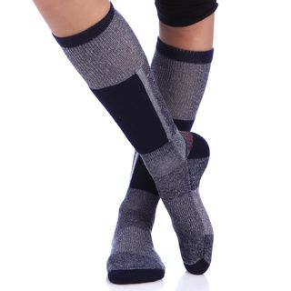 Smart Socks Navy Merino Wool Cushioned Ski Socks (Pack of 3) Smart Socks Socks
