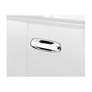 Auto Ventshade 689108 Chrome Door Handle Cover with Passenger Keyhole Automotive