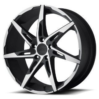 "American Racing AR900 Wheel with Satin Black Machined (17x7.5""/5x115mm) Automotive"