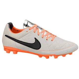Nike Tiempo Legend V K Leather AG   Mens   Soccer   Shoes   Desert Sand/Atomic Orange/Black
