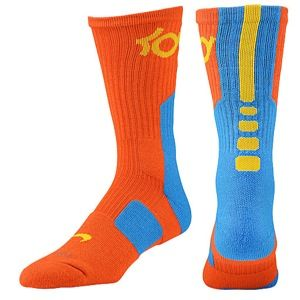 Nike KD Elite Basketball Crew Socks   Mens   Basketball   Accessories   Noble Red/Fusion Red/Medium Olive