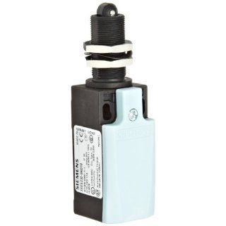 Siemens 3SE5 232 0KD10 Mechanical Position Switch, Complete Unit, Plastic Enclosure, 31mm Width, Roller Plunger, Central Fixing, Slow Action Contacts, 1 NO + 2 NC Contacts Electronic Component Limit Switches