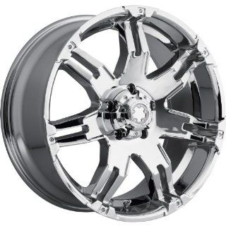Ultra Gauntlet 16 Chrome Wheel / Rim 5x5 with a 10mm Offset and a 78 Hub Bore. Partnumber 238 6873C Automotive