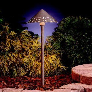 Kichler Lighting 15843 LED Hammered Roof Path Light Patio, Lawn & Garden