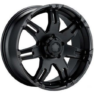Ultra Gauntlet 15 Black Wheel / Rim 5x4.5 with a  19mm Offset and a 82 Hub Bore. Partnumber 238 5865B Automotive