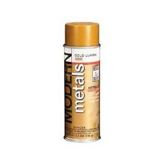 Bulk Buy Design Master Modern Metals Spray Paint 5.5. Ounces Gold Lumina DM MM 238 (3 Pack)