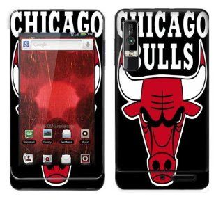 Meestick Chicago Bulls Vinyl Adhesive Decal Skin for Motorola Droid 3 Cell Phones & Accessories