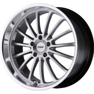 17x8 5x114.3 20mm TSW ZOLDER Hyper Silver Wheels Rims (set of 4) civic rsx stance Automotive