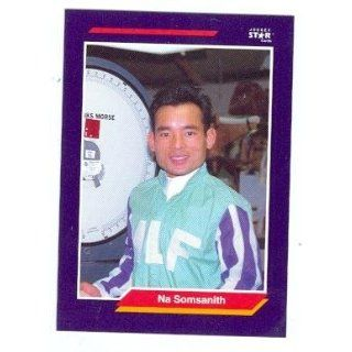 Na Somsanith trading card (Horse Racing) 1992 Jockey Star #245 Collectibles & Fine Art
