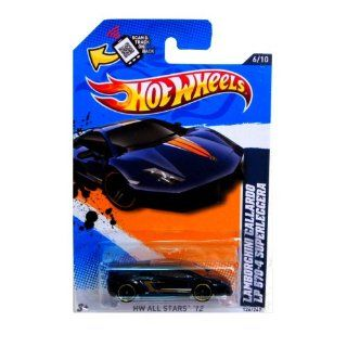 Hot Wheels 2012, Lamborghini Gallardo LP 570 4 Superleggera (Dark Blue), HW All Stars 126/247. 164 Scale. Toys & Games