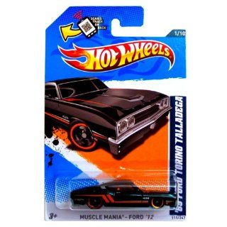 2012 HOT WHEELS 69 FORD TORINO TALLADEGA MUSCLE MANIA 1 OF 10 and 111/247 WITH SCAN & TRACK ON BACK Toys & Games