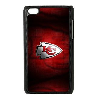 Forever Collectibles NFL Kansas City Chiefs Ipod Touch 4 Hard Case Cover KC Chiefs Cell Phones & Accessories