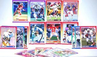 1990   NFL / Score Vintage Football Trading Cards   24 Total   Steve Smith / Harry Newsome / Timm Rosenbach / Jerry Rice / Reggie White / Jim Harbaugh / C Bennett / Steve DeBerg / Al Noga + More   Out of Production   Like New   Limited Edition   Collectibl