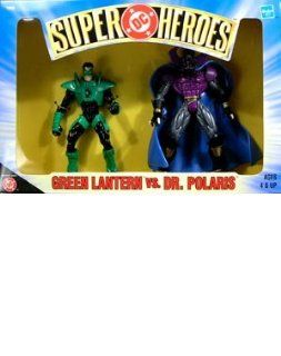 Dc Super Heroes Green Lantern vs. Dr. Polaris Action Figure Toys & Games