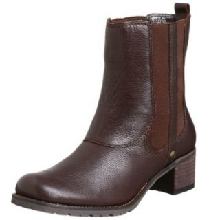Kenneth Cole REACTION Women's Pack Attack Ankle Boot,Dark Brown,4 M Shoes
