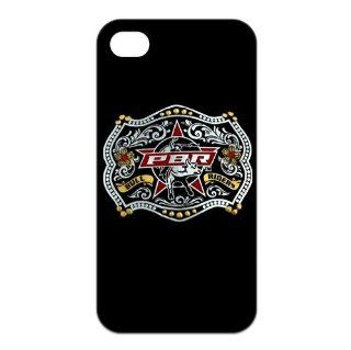 PBR Professional Bull Riders Logo TPU Covers Cases Accessories for Apple iphone 4/4s Cell Phones & Accessories