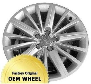 AUDI A5,S5 18x8.5 15 SPOKE Factory Oem Wheel Rim  SILVER   Remanufactured Automotive