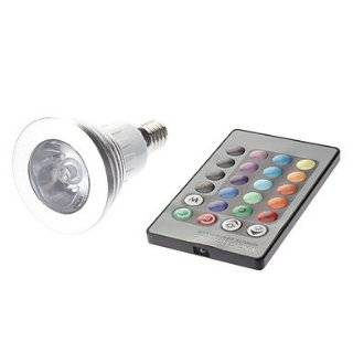 E14 3W RGB Light Remote Controlled LED Spot Bulb (85 265V)