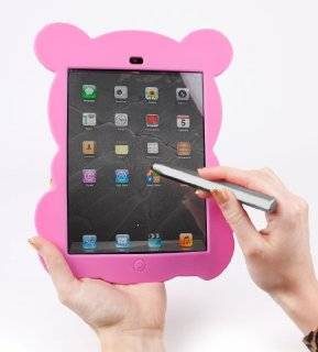 DURAGADGET Cute Pink Panda Bear Rubber Cover Custom Designed For The New Apple iPad Mini With Retina Display & Apple iPad Mini Tablets (Wi Fi & Cellular) (16GB, 32GB, 64GB) + BONUS Silver Stylus Computers & Accessories
