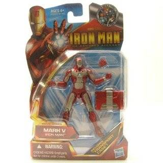 Iron Man The Armored Avenger Movie Series Mark V Iron Man #42 Toys & Games
