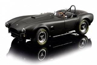 AC Cobra 289. Schwarz Diecast Model Car in 112 Scale by Schuco Toys & Games