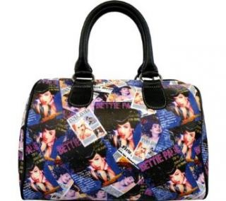 Bpg1082. Bettie Page Satchel BAG Beauty