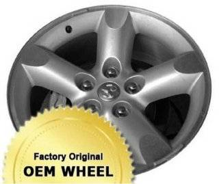 DODGE RAM 1500 20x9 5 SPOKE Factory Oem Wheel Rim  SILVER   Remanufactured Automotive