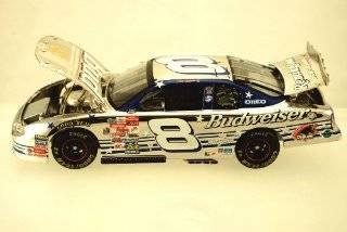 Action   Elite Platinum   NASCAR   Dale Earnhardt Jr #8   2000 Chevy Monte Carlo   Budweiser / U.S. Olympic Team   124 Scale Die Cast   1 of 408   Chrome   Limited Edition   Collectible Toys & Games