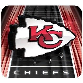 Kansas City Chiefs Football Field Mouse Pad  Sports Fan Mouse Pads  Sports & Outdoors