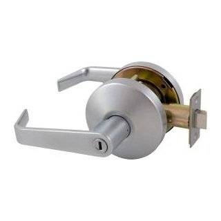 Falcon T301S D 626  T Series Grade 1 Extra Heavy Duty Cylindrical Chasis Non Handed Lock, Privacy Function, Keyless Cylinder, Dane Lever, Satin Chrome Finish