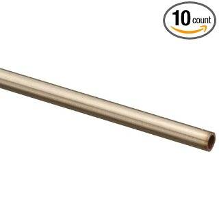 "Stainless Steel 304 Hypodermic Regular Wall Tubing 21.5 Gauge .030"" OD x .023"" ID x .004"" Wall"