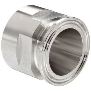 Dixon 22MP G Series Stainless Steel 304 Sanitary Fitting, Clamp Adapter, Tube OD x NPT Female