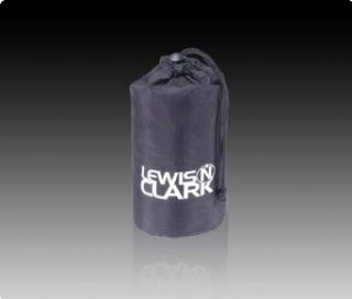 Lewis N. Clark Nylon Ditty Bag, 4 x 9 in, Black   93102BLK Clothing